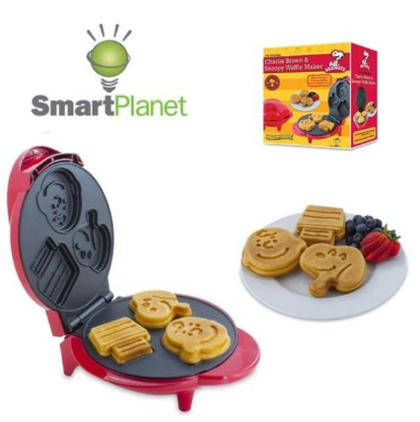 Smart Planet☆Peanuts Snoopy and Charlie Brown Waffle Maker