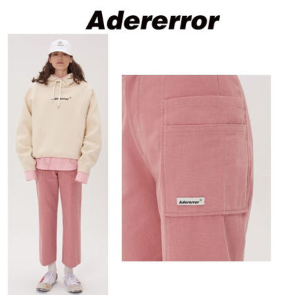 ADERERROR(アーダーエラー) Side pocket trousers Pink 26
