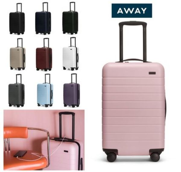 AWAY★USB電源付★軽くて丈夫なアウェイThe Carry-On 機内持込み