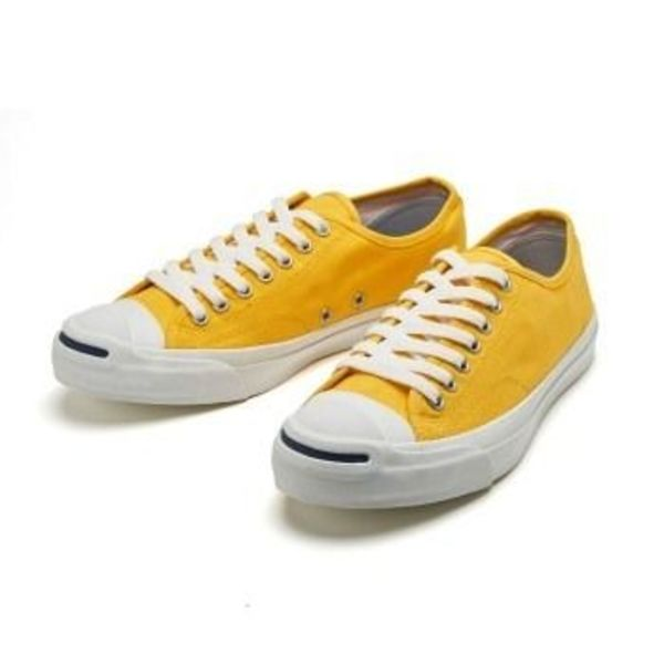 国内配送 CONVERSE JACK PURCELL COLORS RH YELLOW