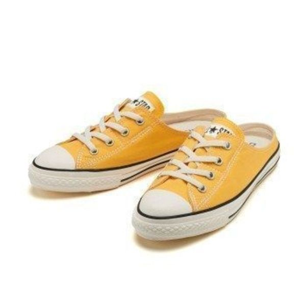 国内配送 CONVERSE WMNS ALL STAR S MULE SLIP OX YELLOW