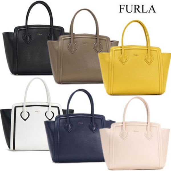 FURLA フルラ トートバッグ COLLEGE L TOTE N/S BDS0