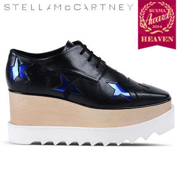 TOPセラー賞!15AW#Stella McCartney# BLACK  STAR SHOES