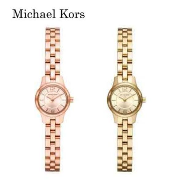 日本完売!★Michael Kors★Women's Runway Three-Hand MK6593