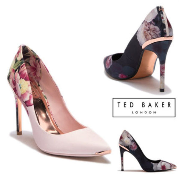 [SALE!][Ted Baker] 花柄パンプス♪ 二色展開!