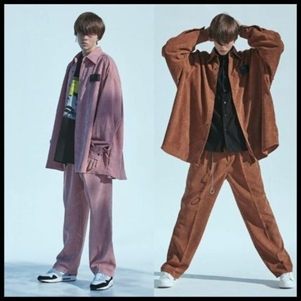☆add☆ CORDUROY WIDE PANTS 2色