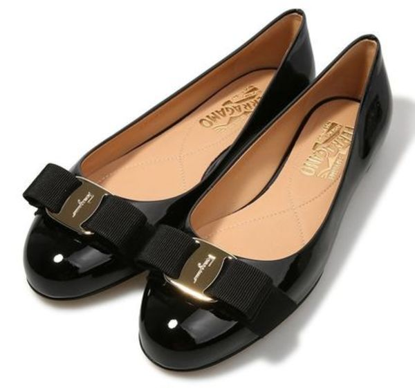 【関税負担】 FERRAGAMO FLAT SHOES