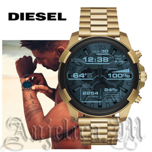 ★スマホ同期!送料込★Diesel On Full Guard Smartwatch DZT2005