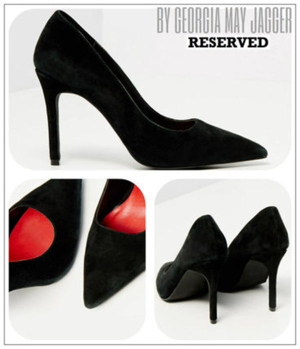 ★【 RESERVED♪by Georgia May Jagger】LEATHER HIGH HEEL★