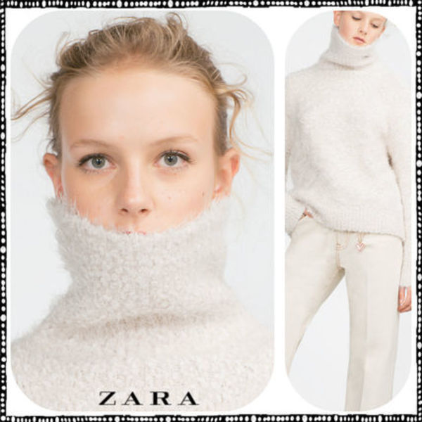 【期間限定】ZARA♪JACQUARD SWEATER★