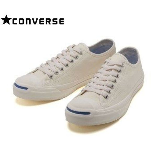 ☆国内正規品☆CONVERSE JACK PURCELL WR CANVAS RH WHITE/BLUE