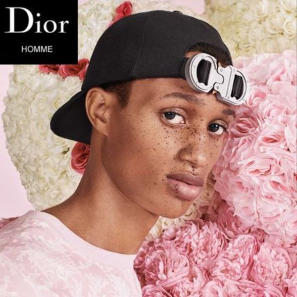【Dior homme パリ店】SS19 Dシェイプ CDロゴキャップ 追跡付