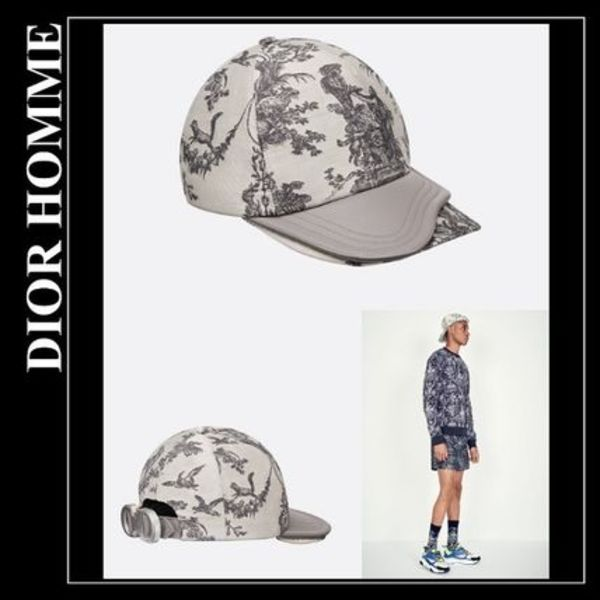 【Dior Homme】Toile de Jouy テクニカルコットン キャップ