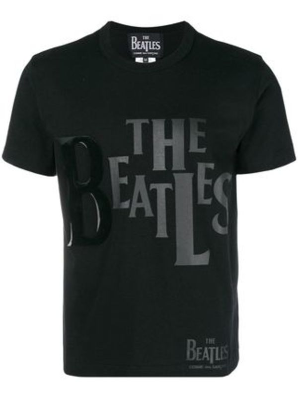 THE BEATLES×COMME DES GARCONS コラボ ロゴプリント Tシャツ