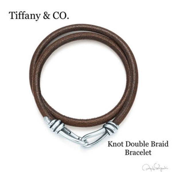 【Tiffany&Co.】Knot Double Braid Wrap Bracelet メンズ