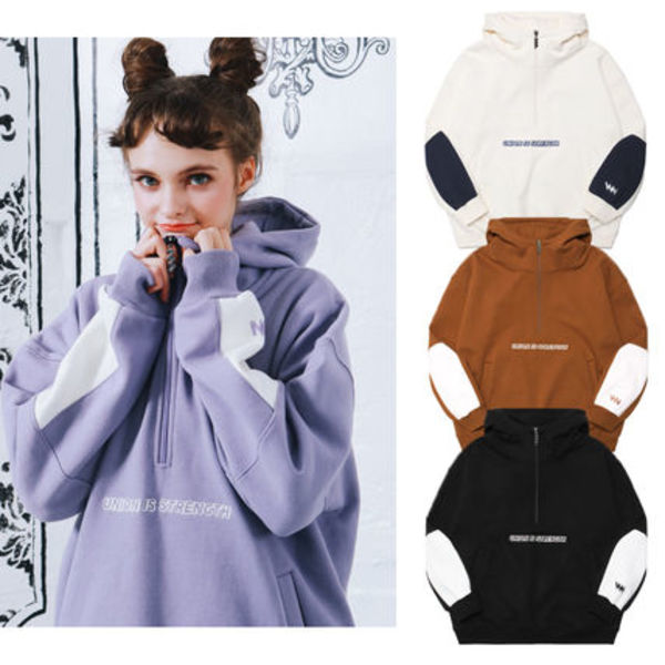 ★WV PROJECT★Younie anorak hood★4色★フーディー★パーカー