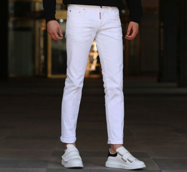 【関税負担】 DSQUARED2 18SS SLIM JEAN WHITE