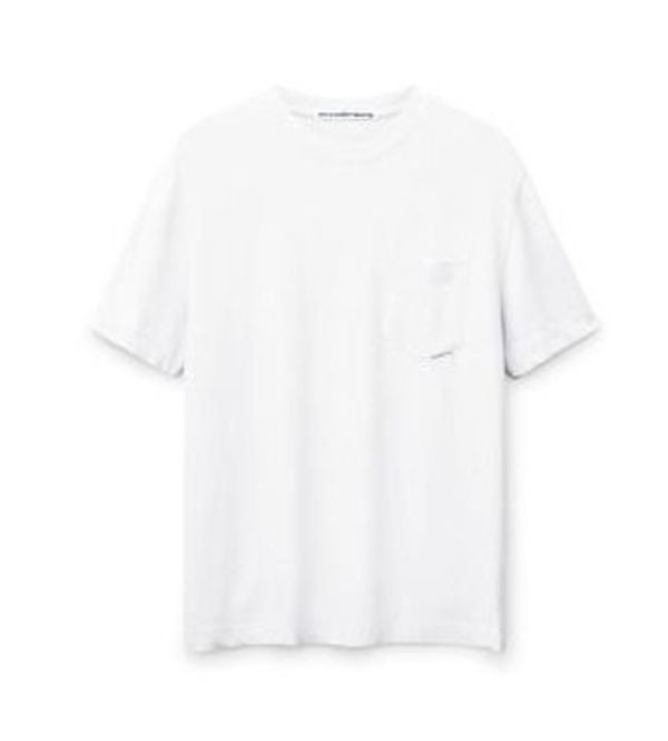 送料 関税込み Alexander Wang high twist pocket white