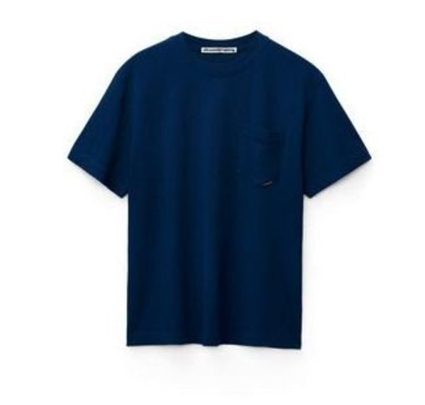 送料 関税込み Alexander Wang high twist pocket blue