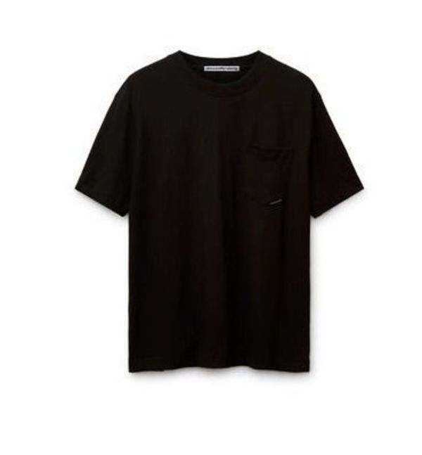 送料 関税込み Alexander Wang high twist pocket black