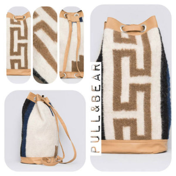 【期間限定】PULL & BEAR♪WOOL BACKPACK★