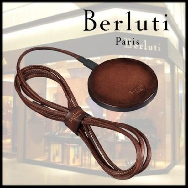 19ss【BERLUTI】Leather Wireless Charger Kit