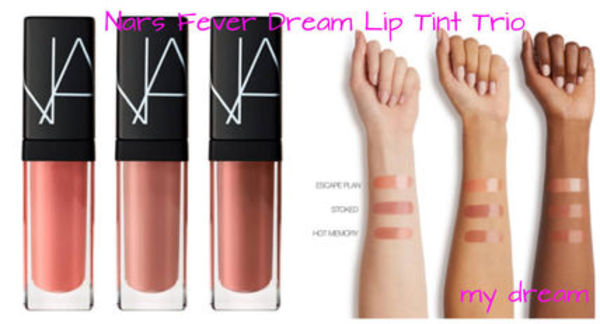 限定♪NARS★Fever Dream Lip Tint Trio 3本セット