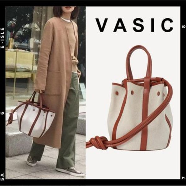 日本完売【VASIC】Safari bucket/ tote bag