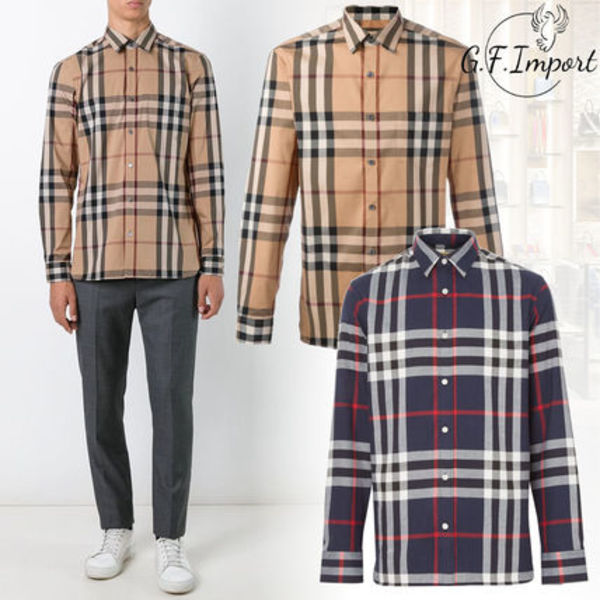 【VIP SALE!!】Burberry☆ヴィンテージ チェック シャツ