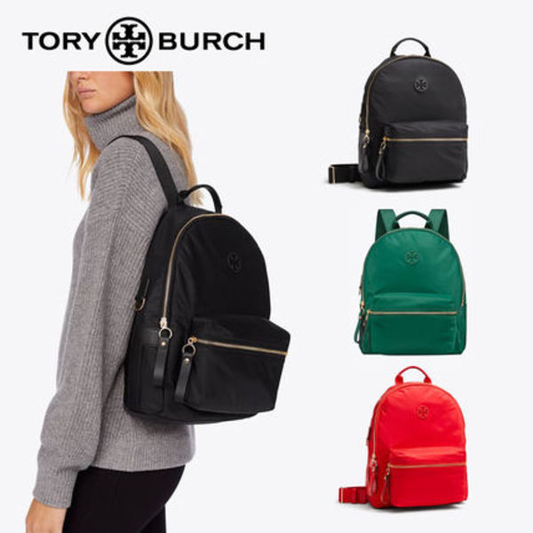 新作!★Tory Burch★人気のナイロン!TILDA ZIP BACKPACK