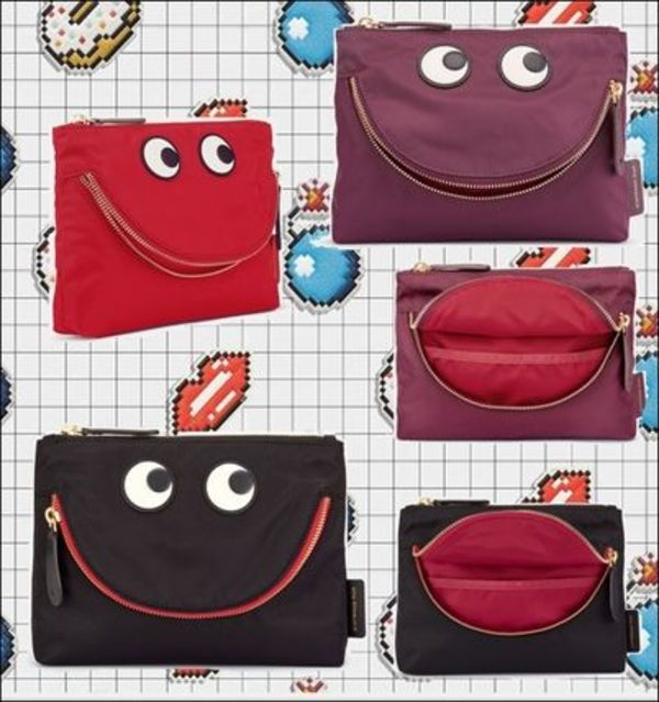 関税込★Anya Hindmarch ★Happy Eyes ポーチ