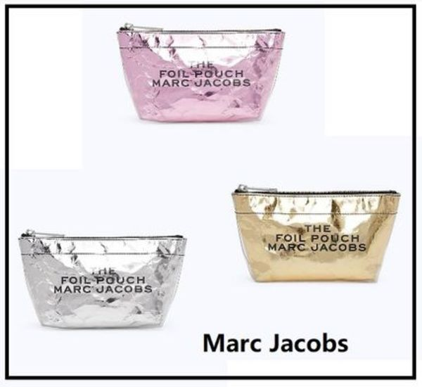 NY発送 ★ MARC JACOBS The Foil Pouch ポーチ