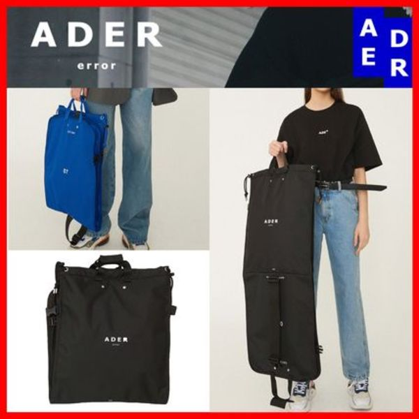 ☆韓国の人気☆【ADERERROR】☆Suitcase Bag☆2色☆