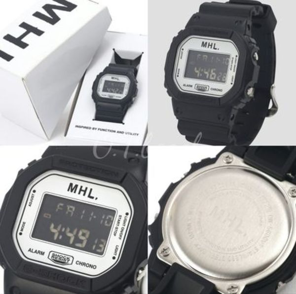 別注★MARGARET HOWELL☆MHL×CASIO G-SHOCK DW-5600/送料込