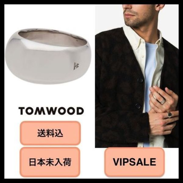 ■VIPSALE・日本未入荷・送料込■Tom Wood Silver Ice Band Ring
