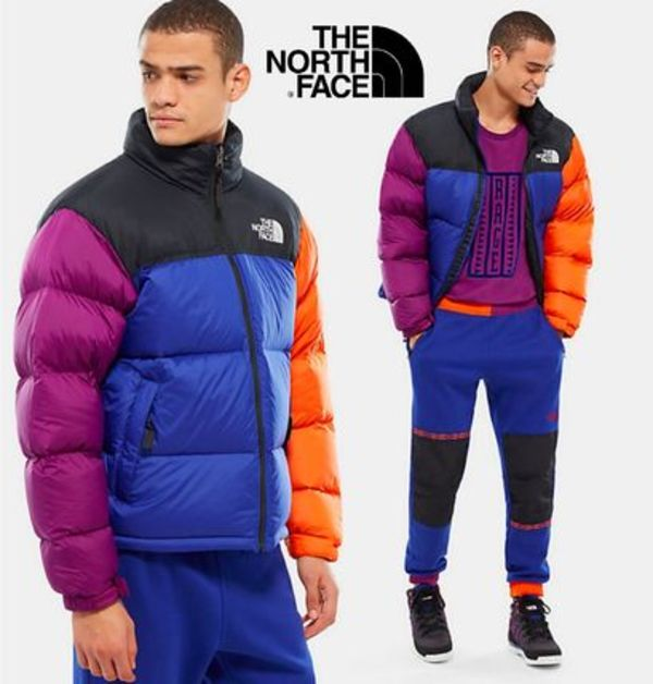 THE NORTH FACE★マルチカラーヌプシ★1996 RETRO NUPTSE JACKET