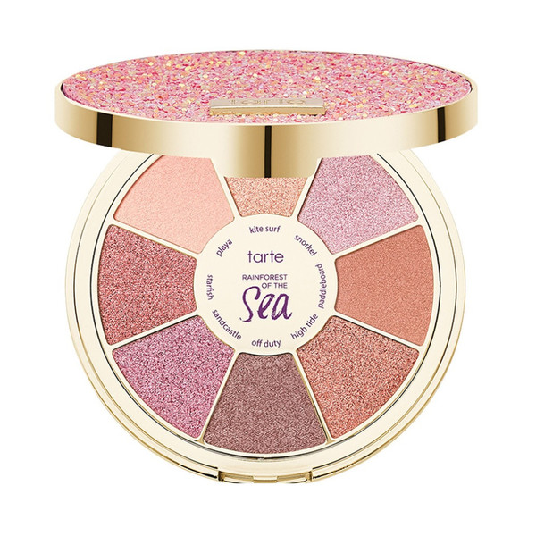 Rainforest of the Sea sizzle eyeshadow palette