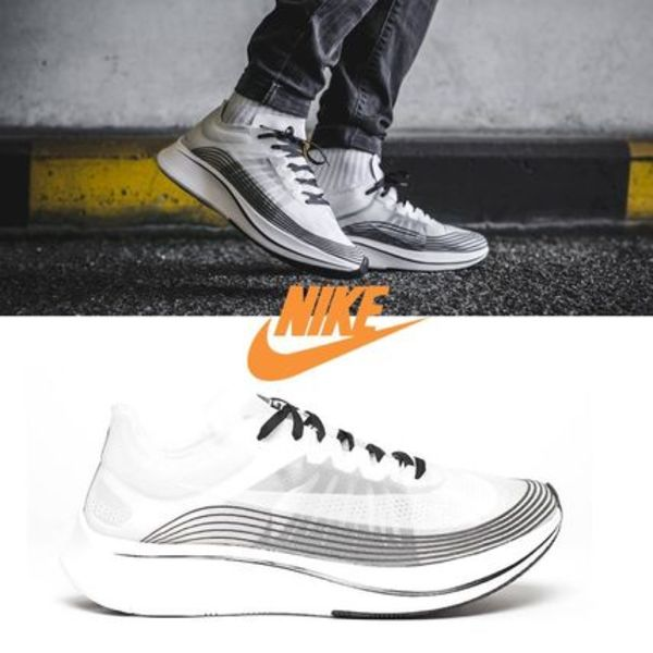 NIKE ZOOM FLY SP WHITE BLACK − ズーム フライ