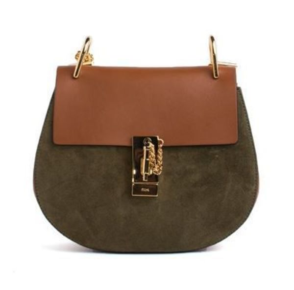 1516AW【CHLOE】DREW SHOULDER BAG brown&khak