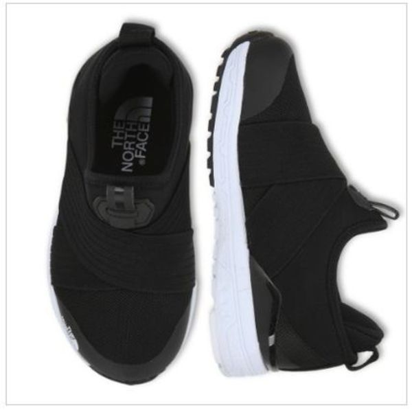 【THE NORTH FACE】 KID TRAVERSE SLIP ON スリッポン BLACK
