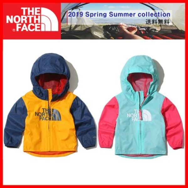 人気★【THE NORTH FACE】KIDS★TODD FLURRY WIND JACKET 2色