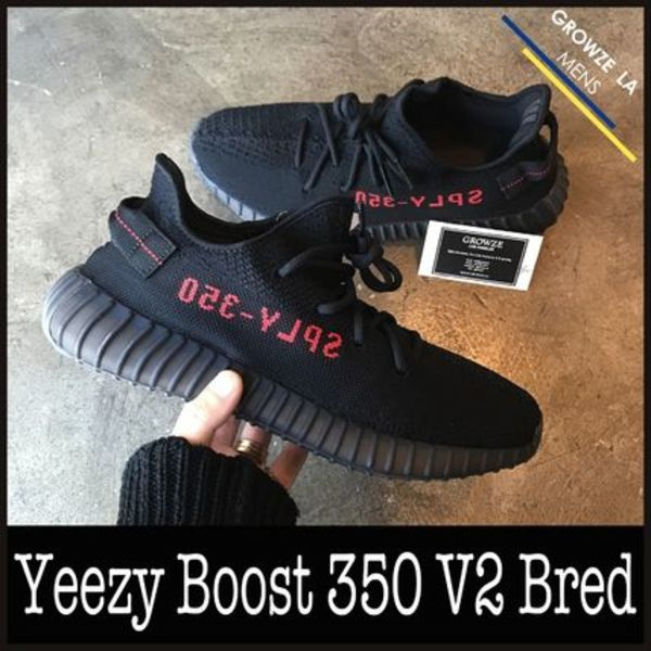 ★【adidas x Kanye West】US11 29cm YEEZY BOOST 350 V2 Bred
