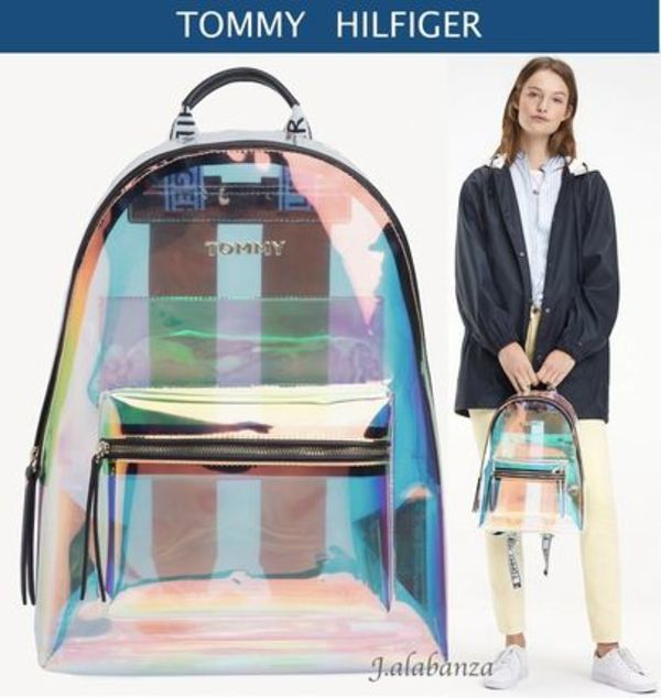 【Tommy Hilfiger】IRIDESCENT バックパック_関送込_国内発