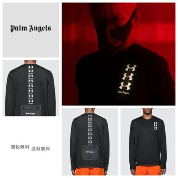 [PALM ANGELS] Under Armour Basic ロンT