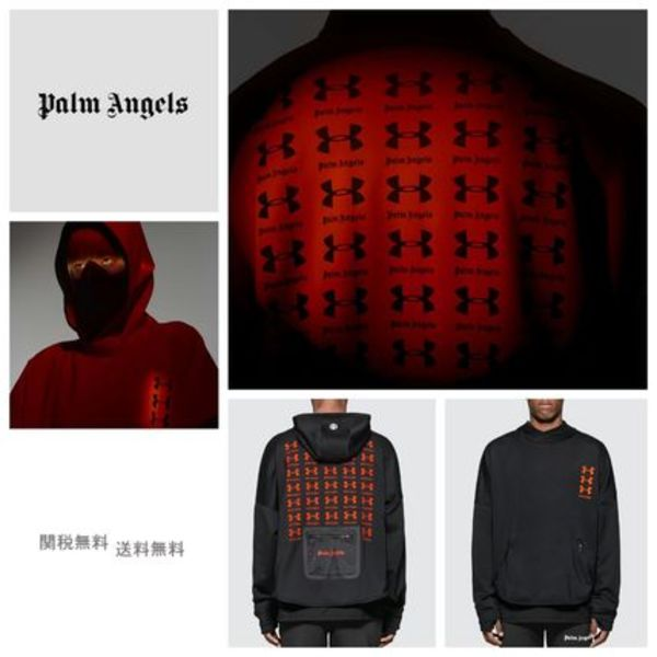[PALM ANGELS] Under Armour Loose Hoodie パーカー