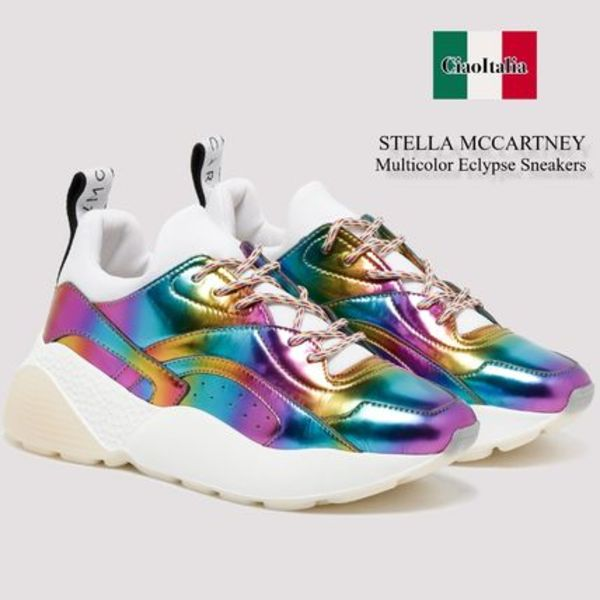 Stella mccartney multicolor eclypse sneakers