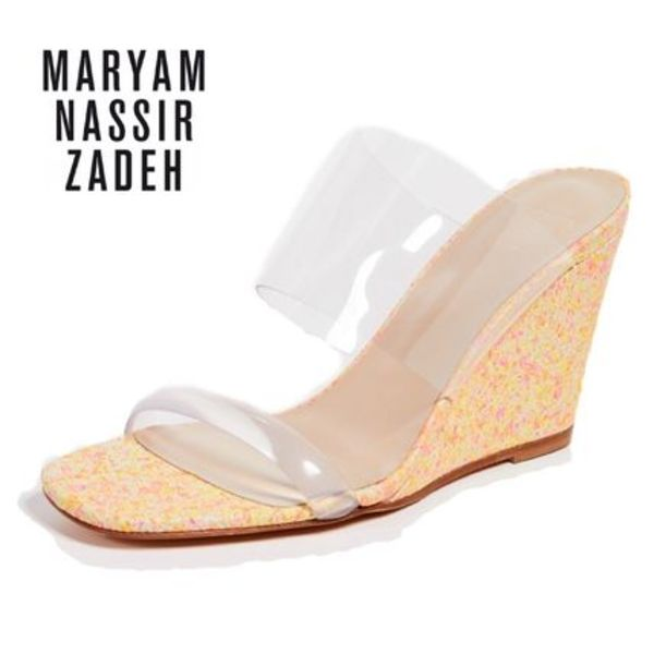 VERY4月号掲載★MARYAM NASSIR ZADEH★Olympia Wedges