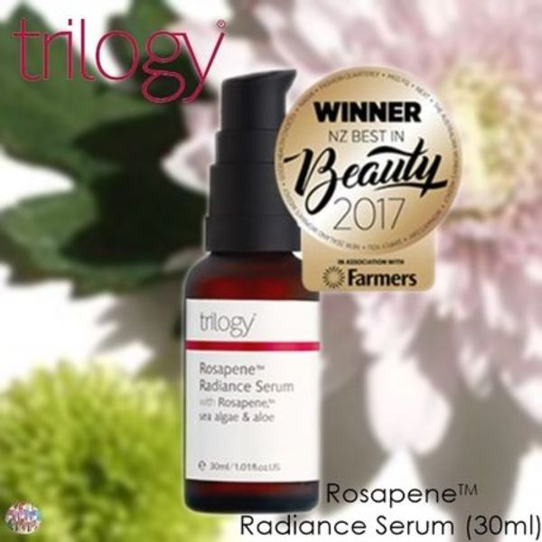 trilogy☆お肌を滑らかに!Rosapene Radiance Serum(30ml)