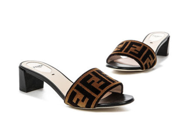 【関税負担】 FENDI SABOTS SANDALS