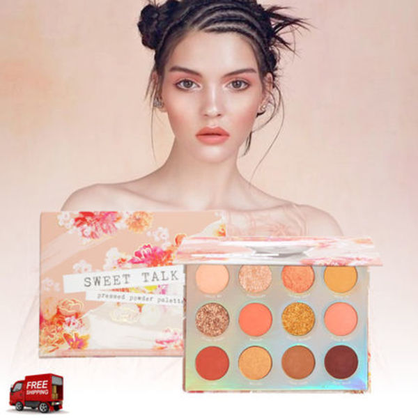 Colourpop☆2019春COLLECTION☆SWEET TALK 12色 アイパレット